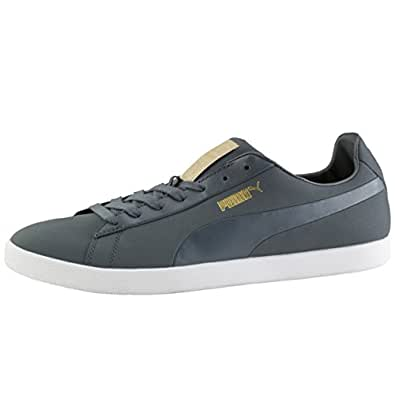 Puma Men's Modern Court Multi-Color Leather Sneakers - 9.5UK/India (44EU)