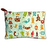 Women's Day Gift Canvas Zipper Pouch | Multipurpose | Travel Case | Stationery Pouch | Money Pouch Wallet | Makeup Kit | Jewellery Organizer | Vanity Bag For Traveling (Multicolor) | Toilet Kit Handbag Organizer| Medicine Bag | Best For Girls And Women |