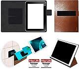 reboon Hülle für HP ElitePad 900 G1 Tasche Cover Case Bumper | in Braun Leder | Testsieger