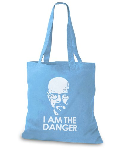 StyloBags Jutebeutel / Tasche I am the Danger - White Sky