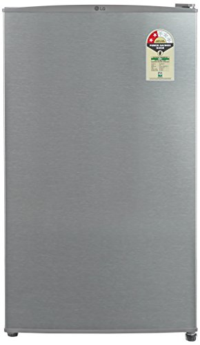 LG 92 L 2 Star Direct-Cool Single-Door Refrigerator (GL-B131RDSV, Dazzle Steel)  available at amazon for Rs.10500