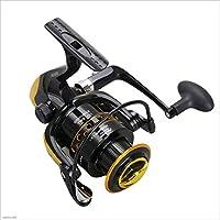 ZRWL Unisex Fishing Reel 12 + 1 rodamientos Izquierda Derecha manija Intercambiable para la Pesca de Agua Dulce de Agua Salada (Tamaño : 2000)