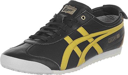 Onitsuka Tiger Mexico 66 Black Yellow Gold Noir