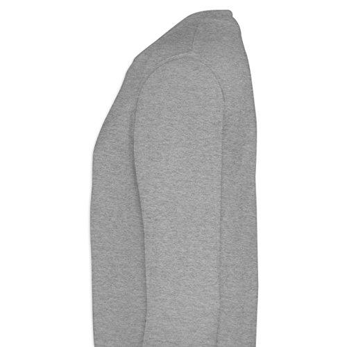 EM 2016 - Frankreich - Germany Schädel Vintage - Herren Premium Pullover Grau Meliert