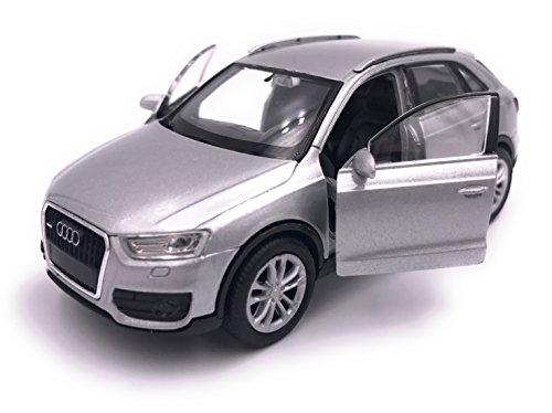 Producto de licencia de automóvil Welly Audi Q3 modelo 1: 34-1: 39 plata