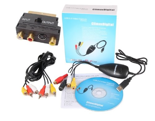 ClimaxDigital USB 2.0 VHS to DVD...