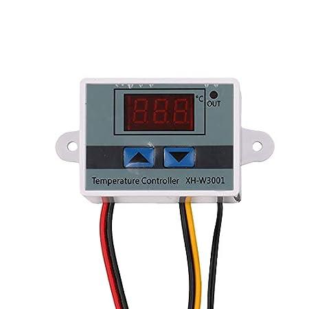 KKmoon xh-w3001Temperaturregler mit Display LCD Digital Thermostat Mikrocomputer Thermoelement Thermostat