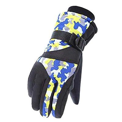 Snowboardhandschuhe Warme wasserdichte Ski-Handschuhe Mann-einen.Kreislauf.durchmachenhandschuhe, B