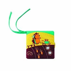 Lilliputiens 86509 libro de tela para bebés - libros de tela para bebés (Cualquier género, Multicolor)