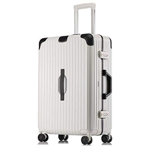 Penao Trolley-Koffer, Anti-Drop und Anti-Druck, Alu-Legierung Wrap-Winkel-Universal-Radboarding-Koffer, Koffer, Sendungskasten, Passwortbox,...