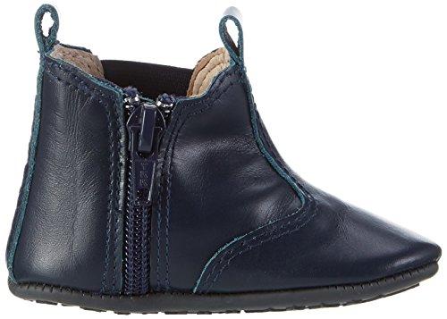 EN FANT Baby Jungen Elastic Slippers Krabbel-& Hausschuhe Blau (Navy)