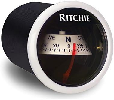 Ritchie Navigation 128-X21WW Compás Sport Panel Rv, Blanco, Talla Única