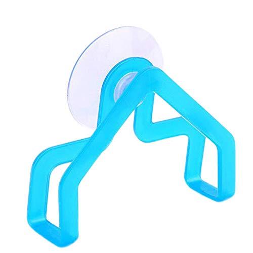 Yooshen Handtuchständer mit Saugnapf Selbstklebend Geschirrtücher Rack Schwammclip für Küche und Badzimmer