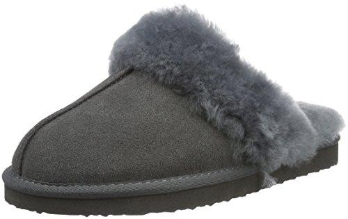 Senhoras Ara Chinelos Confortáveis cinza (grey 05)