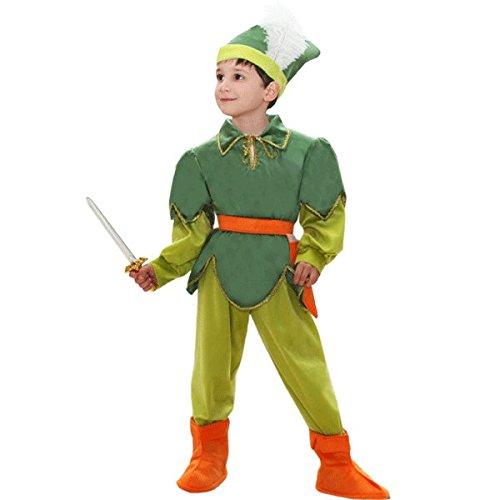 COSTUFEN PETER PAN BABY 4ANNI grün (Baby Peter Pan Kostüm)