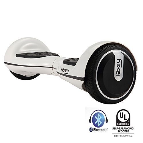 Hiboy TW01S-UL-B, Hoverboard Unisex – Adulto, Bianco, Taglia Unica