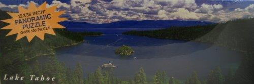 Impact Panorama Puzzle Lake Tahoe