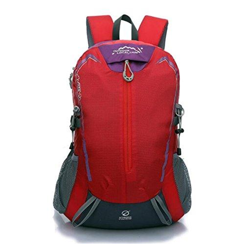 Wmshpeds 32 litri esterno impermeabile sport borsa a tracolla viaggi zaino alpinismo H