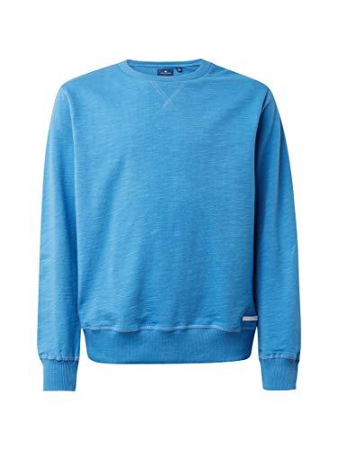 TOM TAILOR Kids Jungen Sweatshirt solid, Blau (Regatta 3065), Herstellergröße: 164 -
