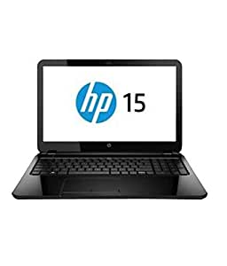 HP 15-R033TX 15.6-inch Laptop (Core i3 4005U/4GB/500GB/DOS/Nvidia GeForce GT 820M 2GB DDR3 Graphics/with Laptop Bag), Black