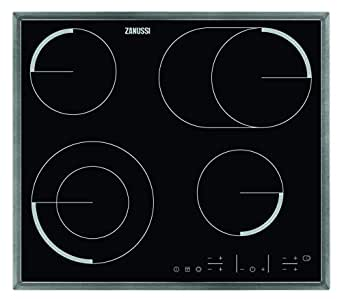 zanussi zev6646 x ba plaque de cuisson lectriques verre c ramique 57 60 cm autosuffisants. Black Bedroom Furniture Sets. Home Design Ideas
