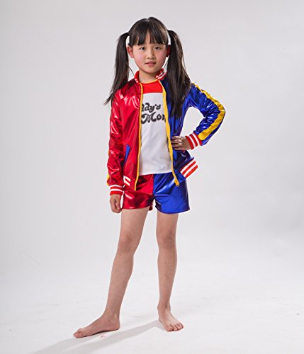 Mädchen Kostüme Kids Für (Little Monster T-shirt Jacket Shorts Kids Sizes Cosplay Clothes From Childrens 2 Years to 10 Year)