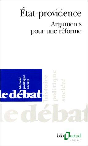 État-providence: Arguments pour une réforme par Jean-Marie Poursin
