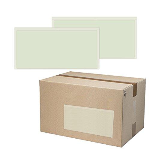 250 St. selbstklebende Dokumententaschen 23x13 cm DIN Lang Lieferscheintaschen