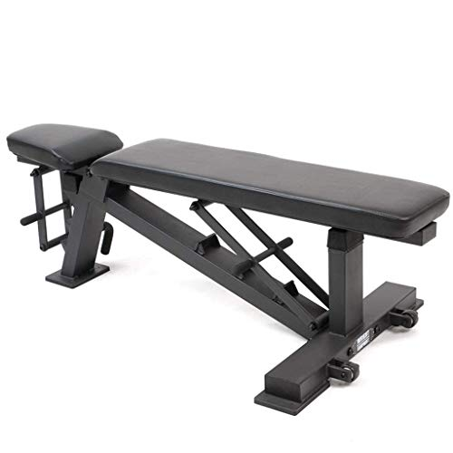 L.TSA Weight Bench Dumbell Workout Abs Leg Bar Bench