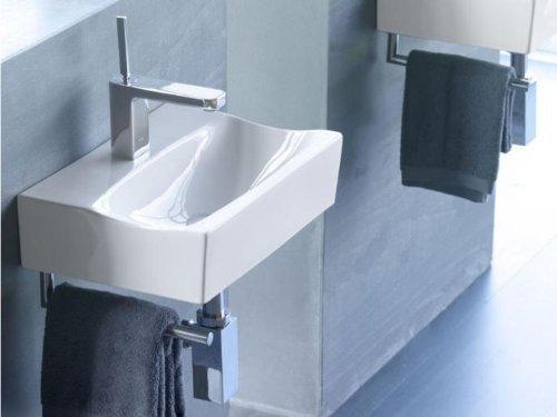 THE BATH COLLECTION - LAVABO RHIN 425*300*110 + TOALLERO