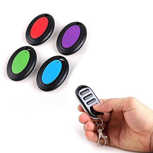 Apore Schlüsselfinder Bravo Tracker – Key Finder – 1 Sender & 4 Empfänger – elektronische Hilfe zum Aufspüren