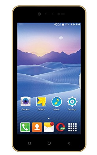 Videocon Delite 11 Rose Gold 4G VoLTE 3000 mah battery