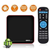 YsinoBear Android 7.1.2 TV Box MECOOL M8S Pro W 2GB RAM 16GB ROM Amlogic S905W Quad Core Smart Set Top Box Soporte 2.4G WiFi 10 / 100M Ethernet 3D 4K UHD OTA Actualización Internet Media Player