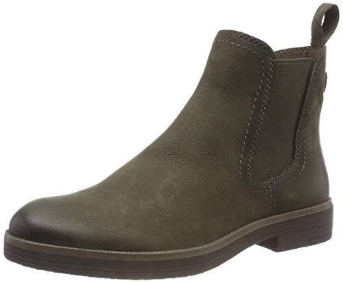 Tamaris Damen 25310-21 Chelsea Boots, Grün (Olive 722), 37 EU
