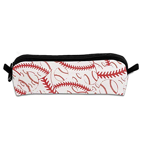 Retro Baseball Stitches Multifunktions-Kosmetiktasche Große tragbare Kosmetiktaschen