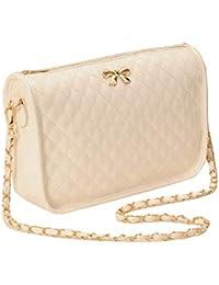 26ebea8cd7 Minetom Borsa a Tracolla in Pelle Artsy Borsa Donna,Messenger Bag, Bowknot Cross  Body Bag,…