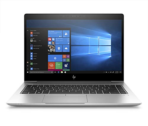 "HP EliteBook 840 G5 Notebook PC, Windows 10 Pro 64, Intel Core i7-8550U, 1.8 GHz, 16 GB di RAM, SSD da 512 GB, Display 15,6"" FHD IPS Antiriflesso, Argento [Layout Italiano]"