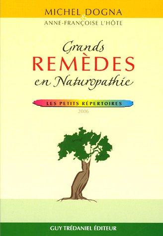 Grands remèdes en naturopathie
