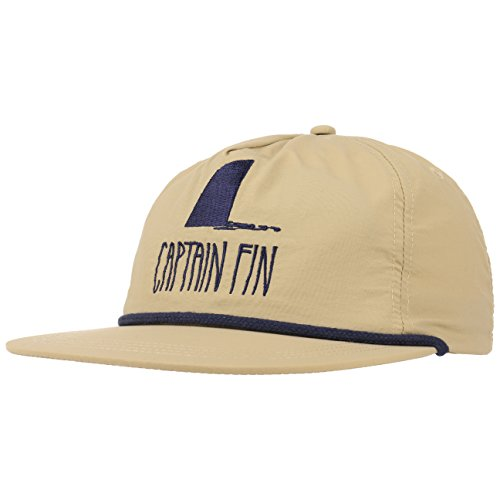 apback Cap Flatbrim Flat Brim Basecap Baseballcap Kappe (One Size - beige) ()