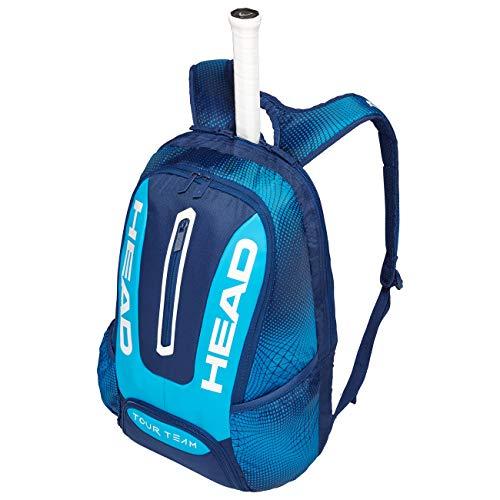 HEAD Unisex- Erwachsene Tour Team Backpack Tennistasche, Navy/Blue, Andere -