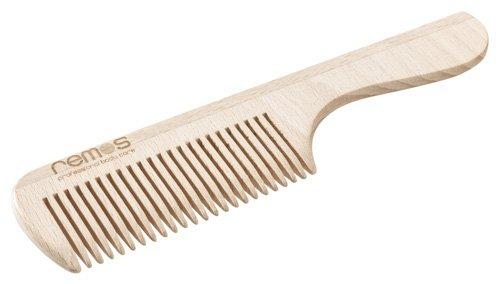 Remos - Peigne à manche en bois de hêtre - 22cm