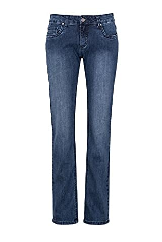 WomensBest Femme Jeans RIO BOOTCUT FR: 44 (Taille fabricant: 42) L32, blue black