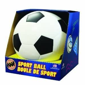 POOF-Slinky 751 POOF 7.5-Inch Foam Soccer Ball with Box, Colors and Style May Vary by Poof TOY (English Manual)