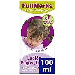 Full Marks Loción Antipiojos con Lendrera - 100 ml