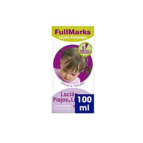 Full Marks Loción Antipiojos y Liendres con Lendrera - 100 ml