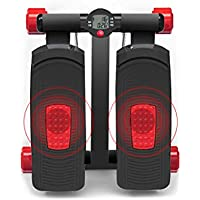LY-01 Máquinas de Step Stepper, hogar Multi-Function Silent Mini Small Exercise Pedal Machine