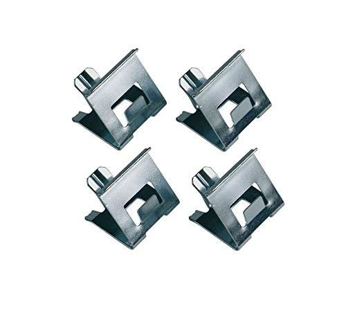 Set 4x Kochfeld-Klemmfeder für Glaskeramikkochfläche Herd Indesit C00502357