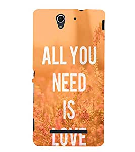 Ebby Premium Printed Mobile Back Case Cover With Full protection For Sony Xperia C3 Dual (Designer Case)