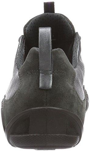 Ecco Ecco Dayla, Derbies à lacets femme Gris - Grau (DARK SHADOW/DARK SHADOW METALLIC)