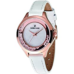 Daniel Klein Analog White Dial Women's Watch-DK11329-1